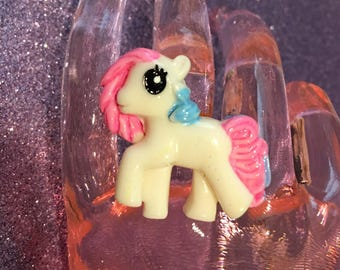 Kawaii Pony Ring
