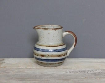 Japanese Stoneware Pottery Pitcher