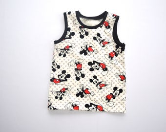 Unisex Tank Top - Mickey Tank Top - Gender Neutral Tank Top - Mickey Mouse