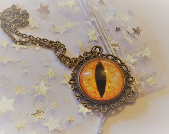 Steampunk Inspired Eyeball Necklace