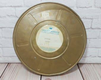 Vintage Metal Film Reel Canister Division