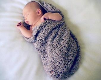 Download Now - CROCHET PATTERN Little Peanut Snuggle Sack - Pattern PDF