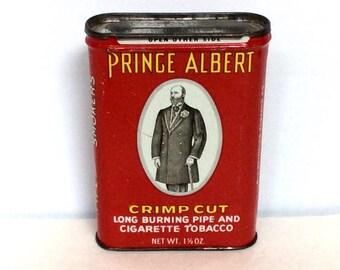Prince Albert Red Cigarette Tin
