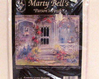 "Marty Bell's ""Parson's Porch"" Counted Cross Stitch Kit"