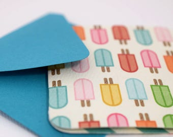 Mini Cards / Cards with Envelopes / Blank Cards / Gift Cards / Gift Tags / Thank You Cards / Favor Cards / Popsicle Cards / mad4plaid