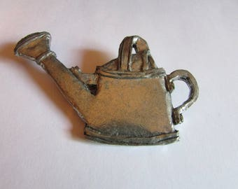 Pewter watering can