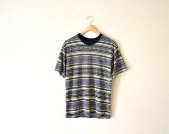 1990's Bugle Boy Striped T-Shirt