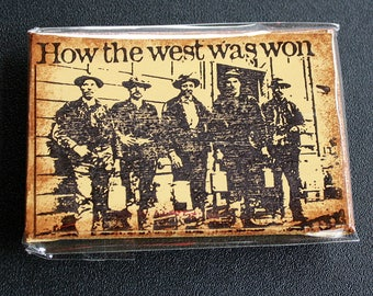How The West Was Won Mini Canvas Magnet - Two by Three Inch