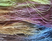 "Size 40 ""Lindsey"" hand dyed thread 6 cord cordonnet tatting crochet cotton"