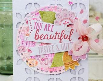 You are Beautiful...Handmade Card