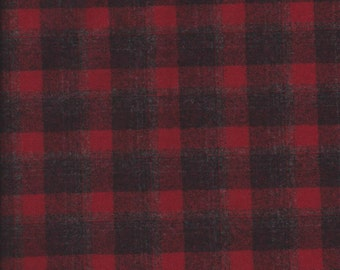 Wool Flannel Fabric Etsy