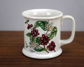 Lauffer Japan Coffea Botanical Coffee Plant Mug or Cup