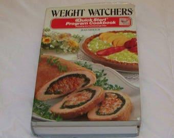 Weight Watchers Quick Start Program Vintage Cookbook