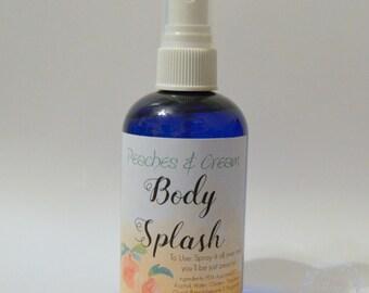 Body Splash, Peaches and Cream, Body Spray, Fragrance, Fruity Scent