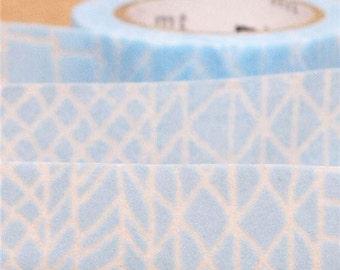 187774 blue aztec print mt fab Washi Masking Tape deco tape