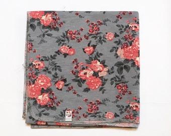 Vintage Floral Swaddling Cocoon Blanket