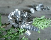 Vintage Silver Candle Holders Antique Christmas Tree Clips | Clip On | Collectible Vintage German Christmas Decor
