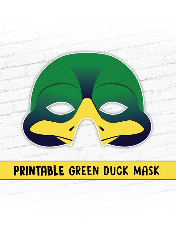 Easter Duck Mask 48