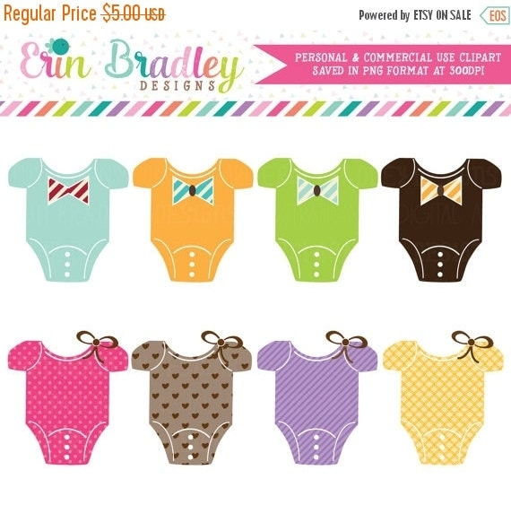70% OFF SALE Baby Tees Clipart Clip Art Personal & Commercial Use