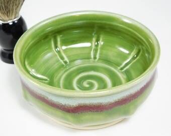 Wet Shave Bowl - Bowl Shaving - Wetshave Ceramic - Wet Shaving Dish - Shaving Soap Bowl - Wet Shave Pottery - Shaving Bowl - In Stock