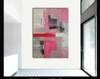 Original ex large abstract painting wall art by Elsisy 58x40 sale