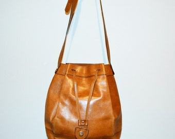 Salvatore Ferragamo Vintage English Leather Hobo Bag