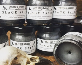 Mother Hylde's Black Salve Drawing Salve 1oz
