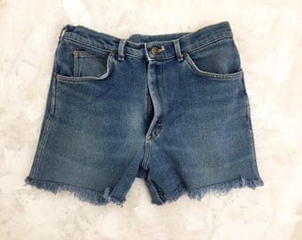 Vintage Lee Denim Cut-Off Shorts