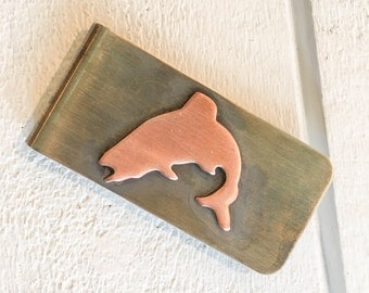 Jumping Trout Money Clip