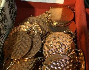 Vintage Copper Earrings 4 (2 Pairs)