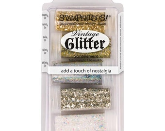 Stampendous Treasures Glitter Kit Set of 5 different Colors