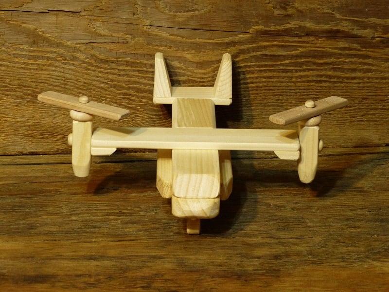 Wooden Toy Log Skidder : Handmade wood toy osprey plane airplane wooden toys eco