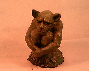 LATEX only GARGOYLE MOLD For Concrete or Plaster