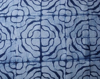 Indigo Linen Fabric, Indigo Hemp Fabric, Indigo Pillow Fabric, Indigo Pillow Material