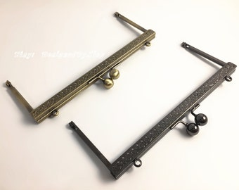 """7 3/8"""" x 3"""" Purse Frame, Choose From 2 Colors, PF030"""