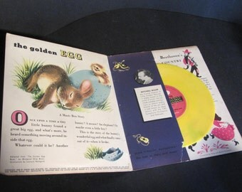 The Golden Egg, A Little Golden Recording Vintage Childrens Record 1948