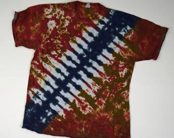 Chewie Bandolier #3 ~ Tie Dye T-Shirt (Fruit of the Loom Heavy HD Size XL) (One of a Kind)