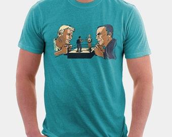 Rock 'Em Sock 'Em Candidates T Shirt | LOST shirt | T-Shirt Unisex - Mens - Womens - Graphic Tee S M L XL Style Shirt Design | Television