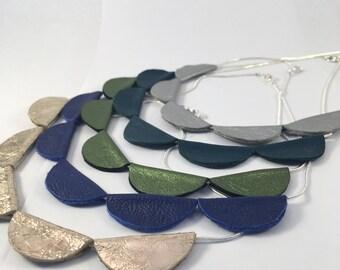 Rik-Rak necklace.