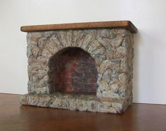 Miniature Fireplace   1:12 scale