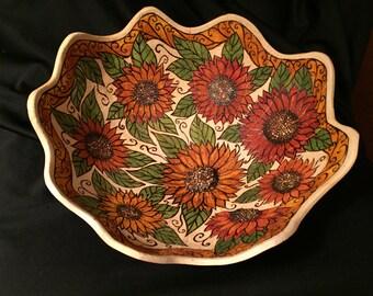 Praise Be Gourd Flower Bowl