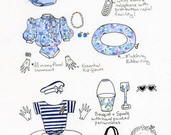 Hyacinth Bucket Style guide greetings card