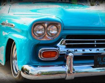 1958 Chevrolet Apache - Classic Truck - Garage Art - Pop Art - Fine Art Photograph