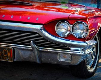 1964 Ford Thunderbird - Classic Car - Garage Art - Pop Art - Fine Art Photograph