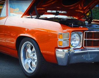 1971 Chevrolet El Camino -  Classic Car - Chevy - Garage Art - Pop Art - Fine Art Photograph