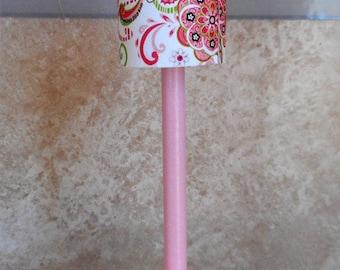 Barbie Pink Paisley Lamp