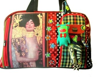 creative bag, unique bag, klimt bag, judith bag, n19