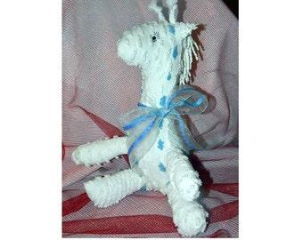 Chenille Giraffe - Baby's First Stuffed Animal