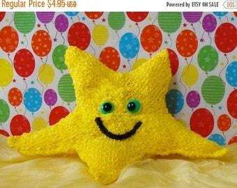 50% OFF SALE Instant Digital pdf download knitting pattern madmonkeyknits Nursery Starfish Toy pdf download knitting pattern