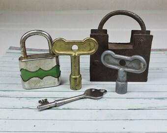 Vintage Locks and Keys